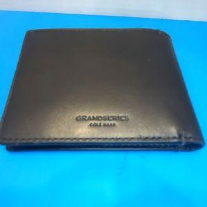 Cole haan grand series combo wallet-Black